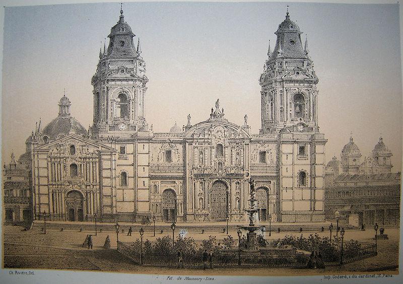 Catedral de lima 1860