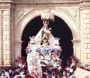 La Virgen de Chiquinquirá