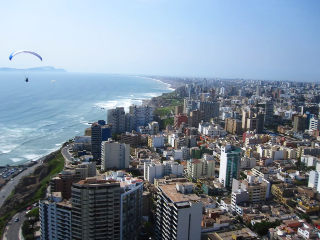 voyage-perou-Lima-parapente-vue