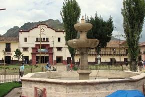 Plaza de armas de Huancavelica