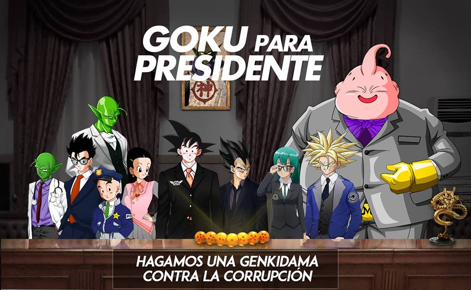 goku presidente